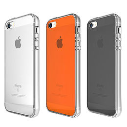 Ultra-slim Scratch-resistant Clear Case with Clear Back Panel for iPhone SE from Beelan Enterprise Co. Ltd