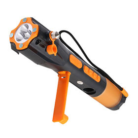 Car Auto Escape Emergency Safety Hammer Tool with Flashlight from Shenzhen Xinlingnan Electronic Technology Co. Ltd