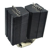Heatsink with 6 pc black nickel -plated Heatpipe to cool CPU/ Industrial Equipment from Sunyon Industry Co. Ltd Dongguan