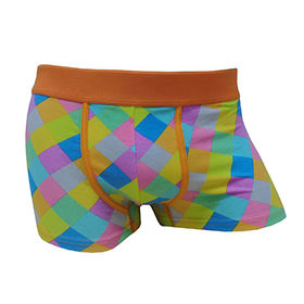 China Men cotton and spandex boxer briefs