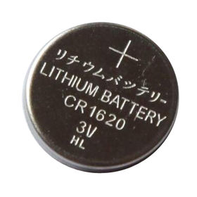 China 3V, Lithium Button Cell, coin cell, watch battery, CR1620, 70mAh