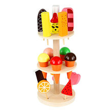 Wooden ice cream toys from China (mainland)