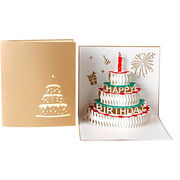 Birthday Greeting Cards/Pop-up Greeting Cards from China (mainland)