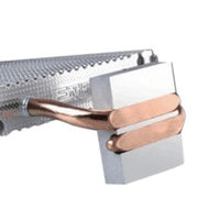 The best quality aluminum with copper heat pipe heat sink for CPU from Sunyon Industry Co. Ltd Dongguan