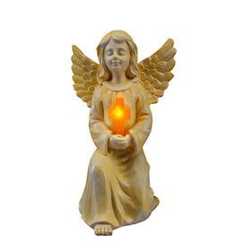 New Kneeling Angel Holding Cross Quanzhou Leader Gifts Co. Ltd