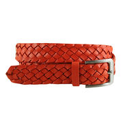 Braided Leather Belt from China (mainland)