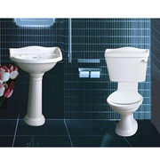 Two piece toilets from China (mainland)