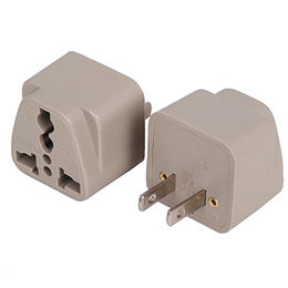 AC Travel Adapter for 110 to 250V Power, Convertible for the US to EUR Power Plug from UPO Technical Products Ltd