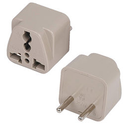 AC Travel Adapter for 110 to 250V Power, Convertible for US to EUR Power Plug from UPO Technical Products Ltd