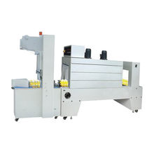 Semi auto sleeve wrapper + shrink tunnel machines from India