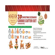 3D stainless steel custom cookie cutter from China (mainland)