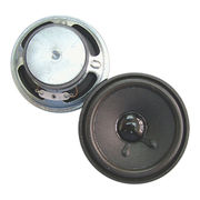 77 mm, 2W ferrite loudspeaker in 28.5 mm height and 8 Ohm impedance from Wealthland (Audio) Limited