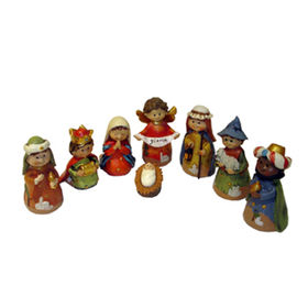 Polyresin Nativity Figurine Set Manufacturer