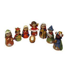 Polyresin Nativity Figurine Set Manufacturer
