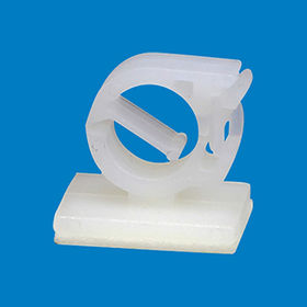 Plastic wire mounting clip, HCO-7.6 from Ganzhou Heying Universal Parts Co.,Ltd