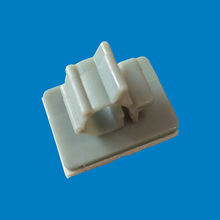 3M adhesive nylon plastic wire mount, FW-2P from Ganzhou Heying Universal Parts Co.,Ltd