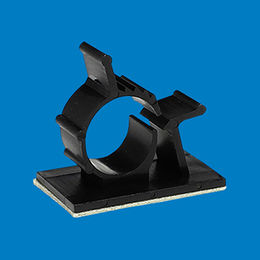 Plastic 3M adhesive wire mount, AWC-6 from Ganzhou Heying Universal Parts Co.,Ltd