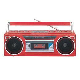 Radio cassette recorder from China (mainland)