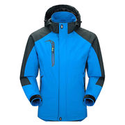 Men's Sportswear Hooded Softshell Outdoor Raincoat from China (mainland)