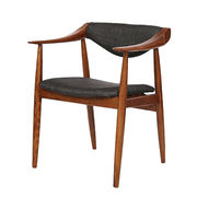 Ash solid wood modern dining chairs from China (mainland)