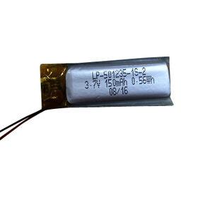 3.7V/150mAh Rechargeable Lithium-polymer Battery Pack from Shenzhen BAK Technology Co. Ltd