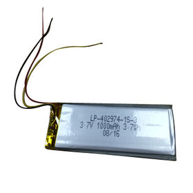 LP-402974-1S-3 3.7V 1000mAh Rechargeable Lithium Polymer Battery from Shenzhen BAK Technology Co. Ltd