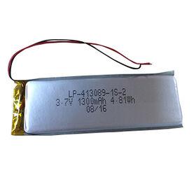 LP-413089-1S-2 3.7V 1300mAh Rechargeable Lithium Polymer Battery from Shenzhen BAK Technology Co. Ltd