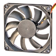 High air impedance DC cooling fan, 8015, for high temperature environment from UC Electromechanical Technology Co.,Ltd
