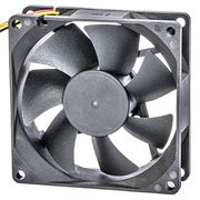 High air impedance DC cooling fan, 8025, for high temperature environment from UC Electromechanical Technology Co.,Ltd