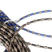 China Spring bond diamond saw wire