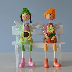 Wooden craft doll