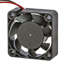 30x30x10mm Fiber glass Thermoplastic housing and Impeller DC Axial Fan from UC Electromechanical Technology Co.,Ltd