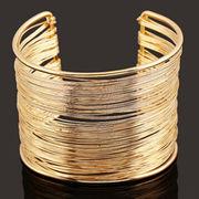 Metal cuff bangle from China (mainland)
