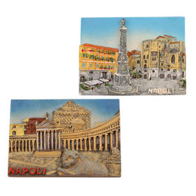 High Quality 3D Italy Napoli Fridge Magnet from China (mainland)
