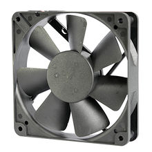 High air impedance DC cooling fan 12025 for high temperature environment from UC Electromechanical Technology Co.,Ltd