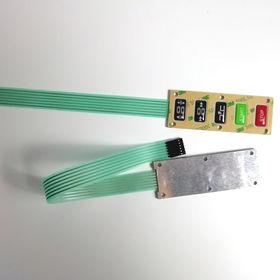 China Tactile membrane switch metal dome keypad