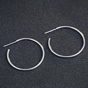 Silver Stud Earrings from China (mainland)