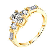 Cubic Zirconia Ring from China (mainland)