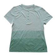 Women's shirts, made of slub jersey, available in various designs and colors