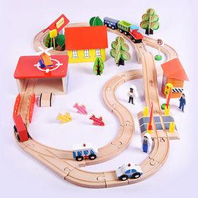 Track racer train set toy Manufacturer
