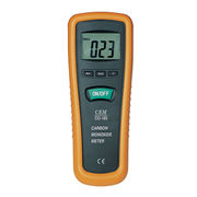 Pocket-Sized Carbon Monoxide Meter with Large 3 1/2-Digit (1999 Counts) LCD Backlight