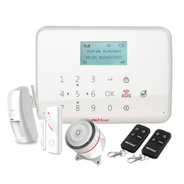 Smart Home Automation / wired gsm alarm system wireless , DIY wireless alarm
