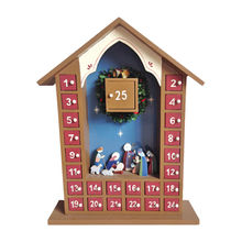 Wooden desktop calendar from China (mainland)