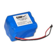 Li-ion 18650 11.1V 6600 mAh Rechargeable Battery pack with PCB protection from Dongguan Victory Battery Technology Co., Ltd.