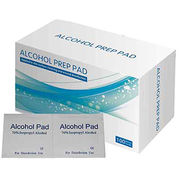 Medical Disposable Alcohol Swabs, 70% isopropyl