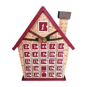 China 2016 Christmas Kid's Wooden Calendar Box, W02A184