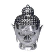 India Calm Buddha Head Sculpture