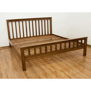 Hot Sale Oak Solid Wood Platform Bed from China (mainland)