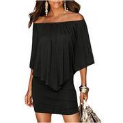 Hot Sale Multiple Dressing Layered Black Mini Manufacturer