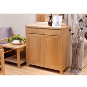 Hot Sale Modern Oak Solid Wood Shoe Cabinet from China (mainland)